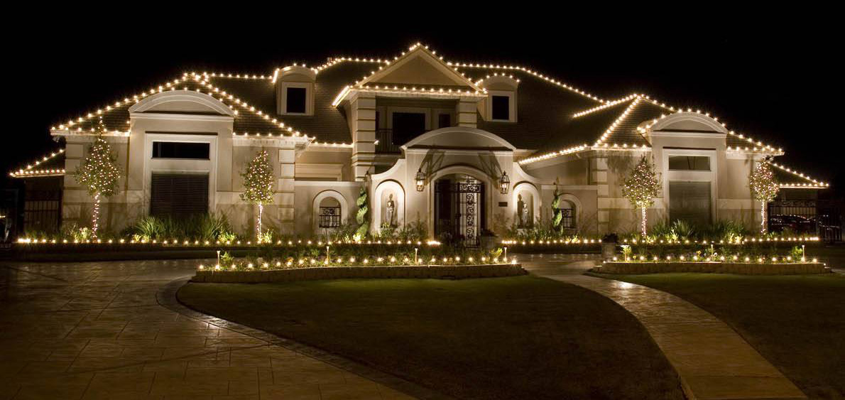 One Story House Christmas Lights.Christmas Lights Near Me Cost Installation Checklist