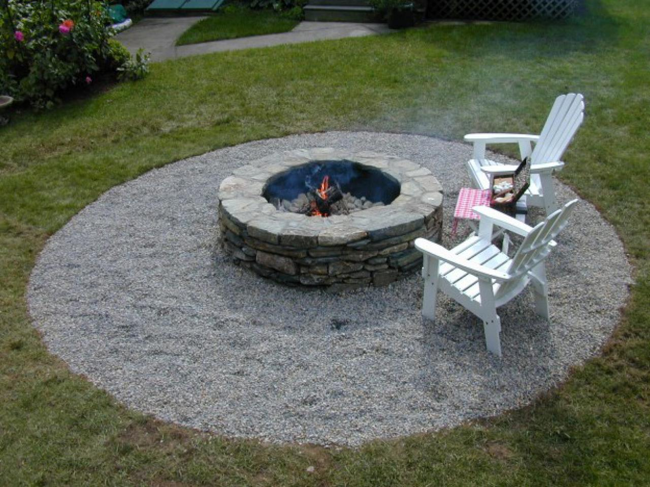 How To Build A Fire Pit: Cost Of Materials & Practical Tips ...