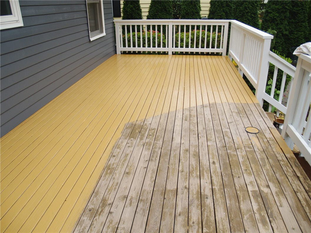 How To Stain A Deck Tutorial Amp Cost Guide Jocoxloneliness