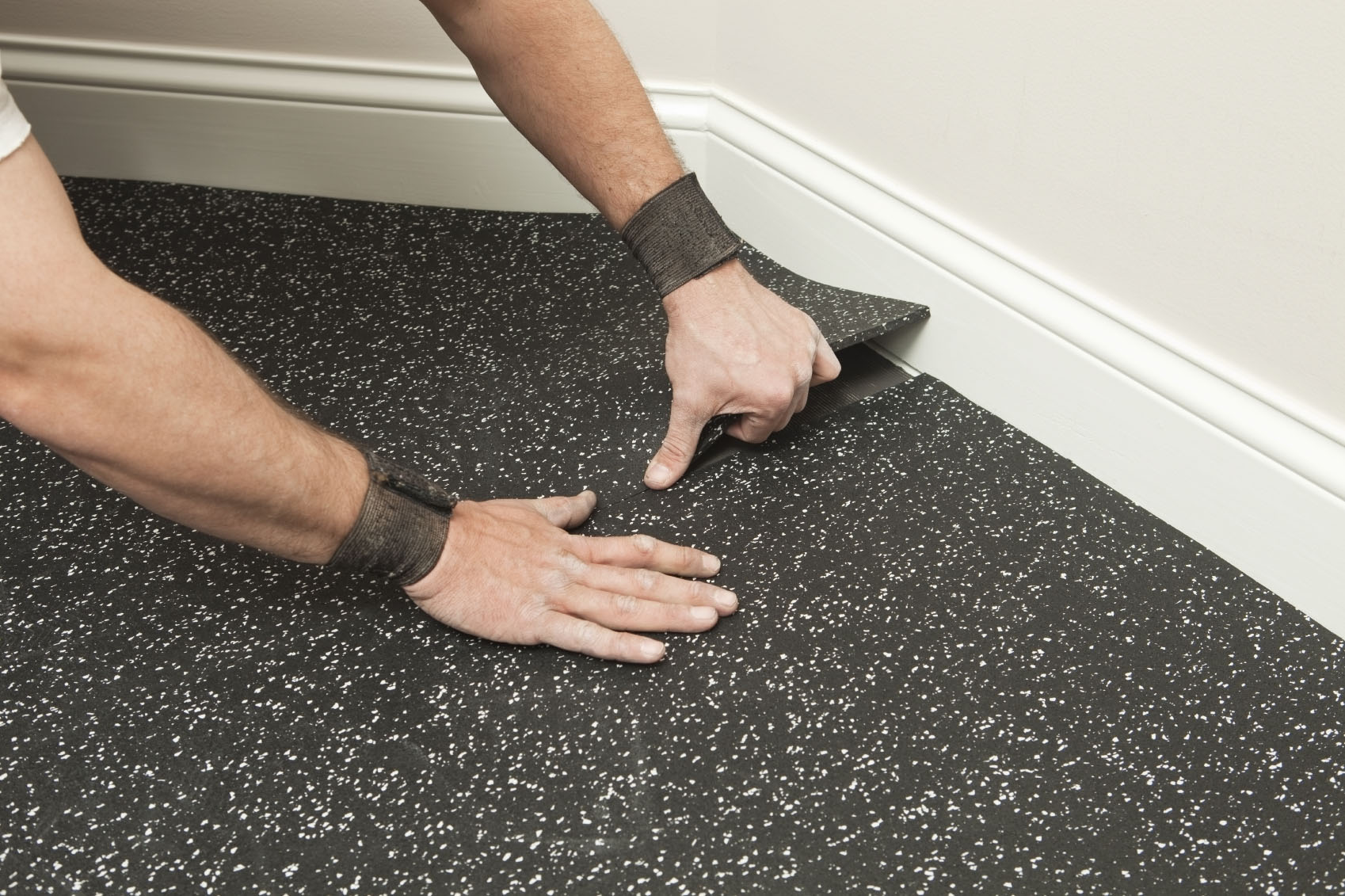 Rubber Flooring Cost & installation 12  EarlyExperts