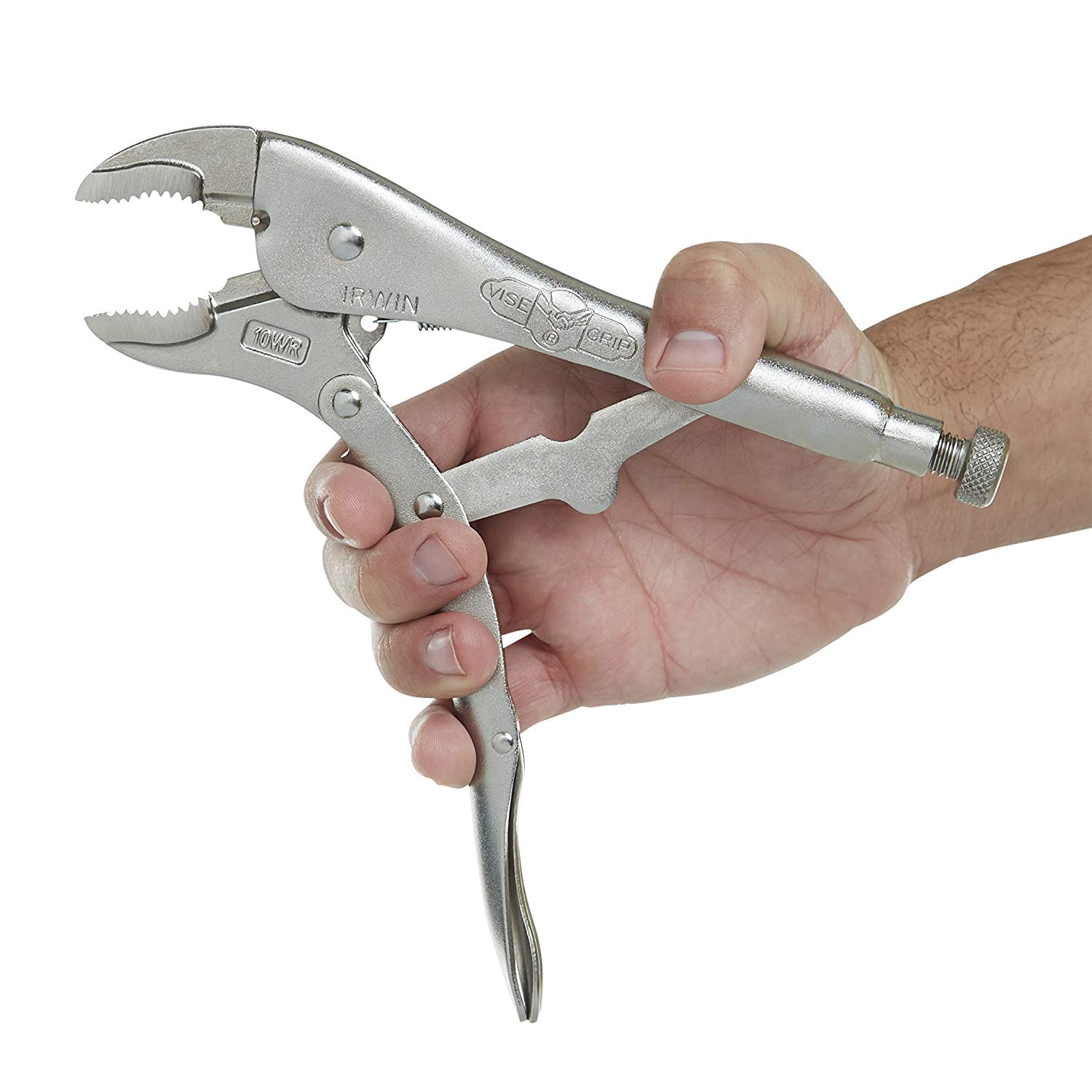 """10/"""" Locking Pliers  w// 2/""""inch Hose Pinch-Off Adjustable Handle Quick Release"""