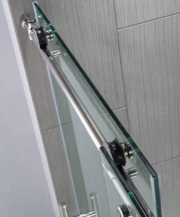 Woodbridge Frameless Sliding Glass Shower Door