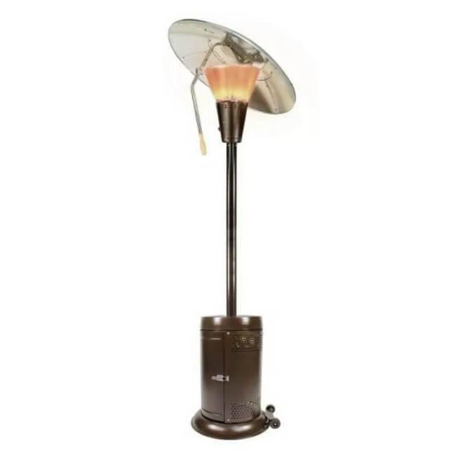 Hampton Bay 38,200 BTU Heat-Focusing Propane Patio Heater