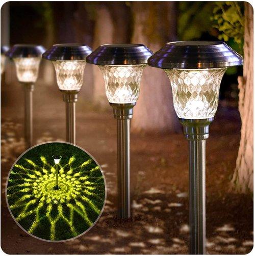 Beau Jardin Solar Pathway Lights