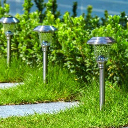 Beau Jardin Stainless Steel Solar Lights