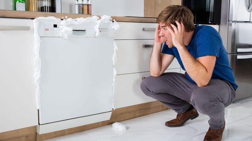 dishwasher nnot draiing
