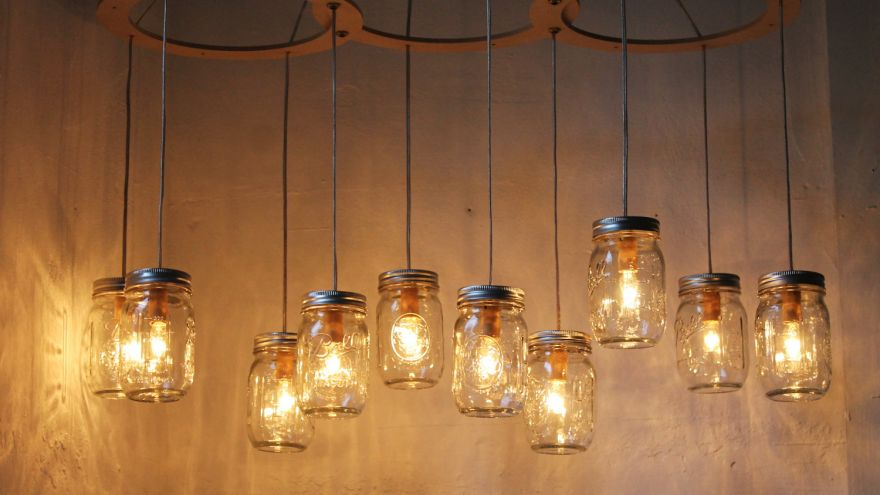 diy pendnast lights