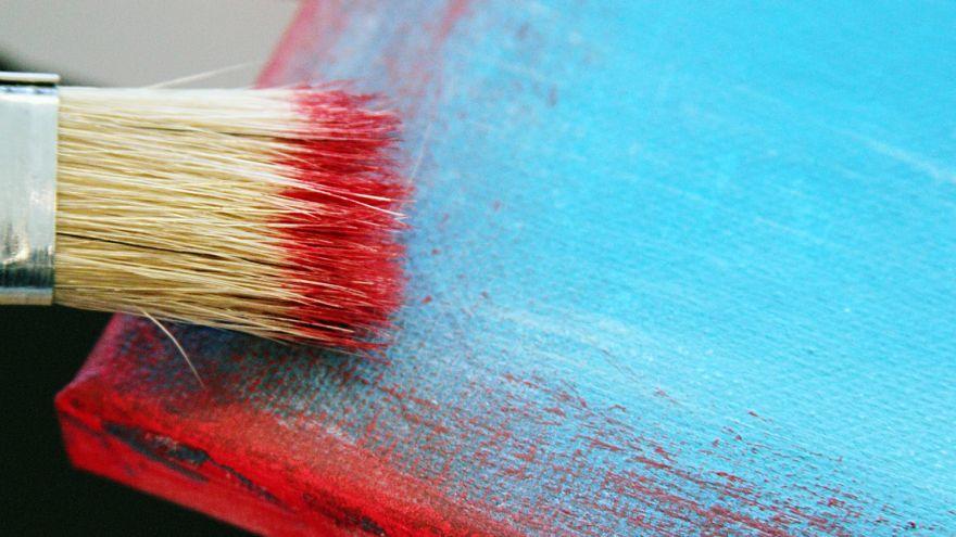 diy rustic paint technique