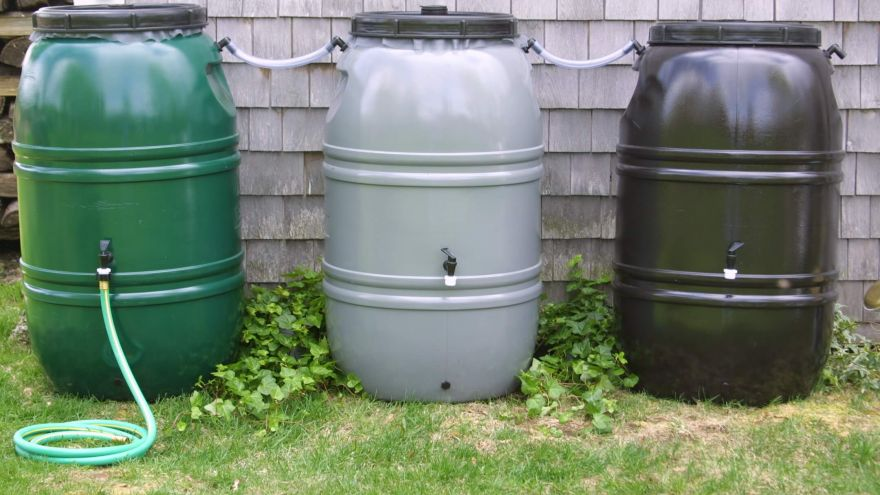 how to install rain barrel kit