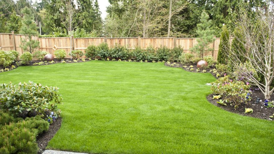 how to level a yard