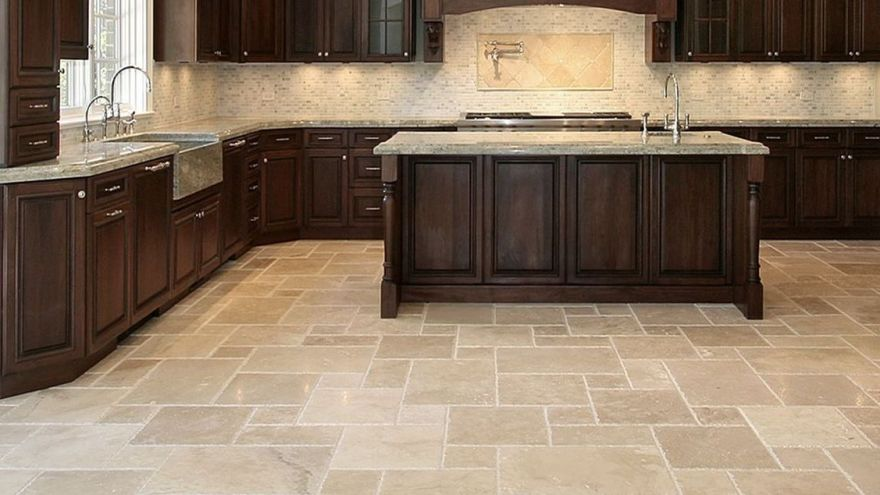 Kitchen Floor Tiles How To Choose Easy Maintenance